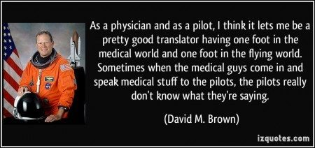 David M. Brown Quote