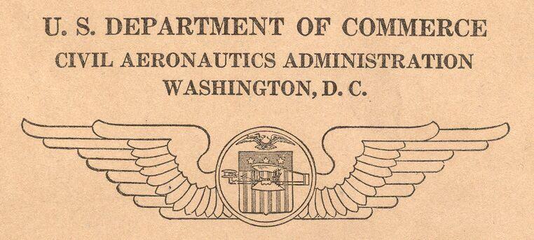 Aeronautics Branch Dept of Commerce
