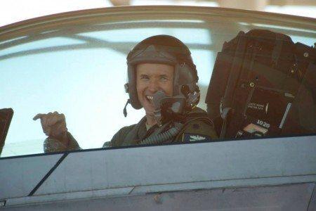 Lt Col Jay Flottmann F-22 Fini Flight